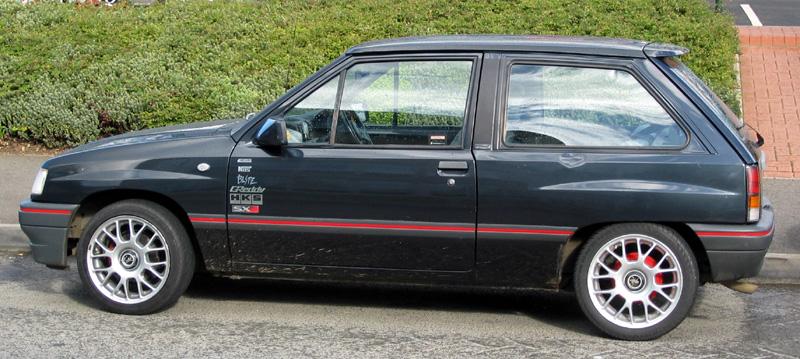 Drives: Knackered Nova or Fiesta of no more than 1.3 litres.